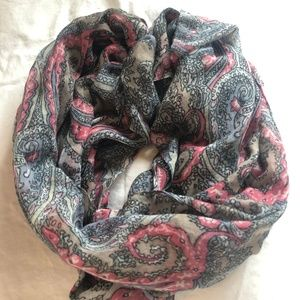 Paisley Foulard Scarf from Paris
